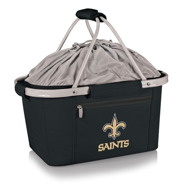 Picnic Time New Orleans Saints Metro Basket - Black