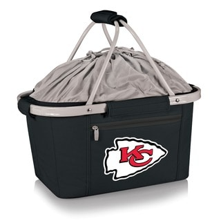 Picnic Time Kansas City Chiefs Black Metro Basket