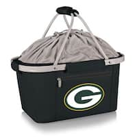 Picnic Time Green Bay Packers Metro Basket - Black