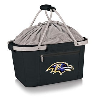 Picnic Time Baltimore Ravens Metro Basket