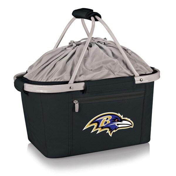 Picnic Time Baltimore Ravens Metro Basket