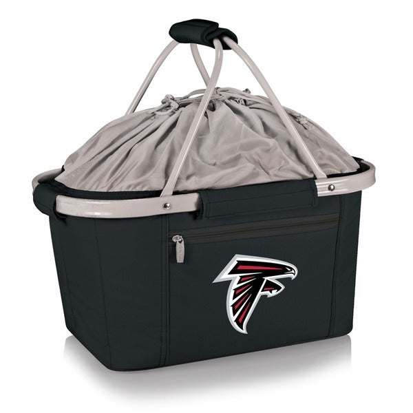 Picnic Table Atlanta Falcons Metro Basket Black Free Shipping On - Picnic table atlanta
