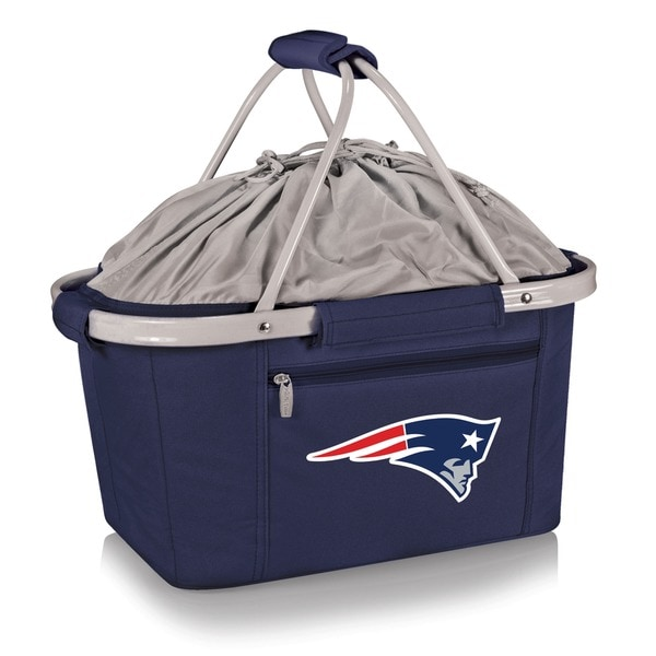 Picnic Time New England Patriots Navy Metro Basket