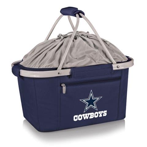 Picnic Time Dallas Cowboys Metro Basket - navy