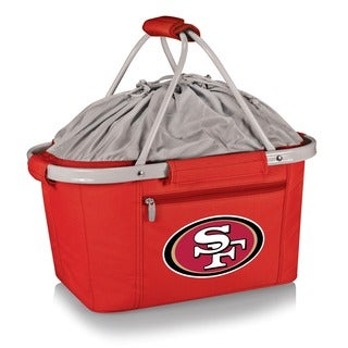 Picnic Time Metro Basket San Francisco 49ers -Red