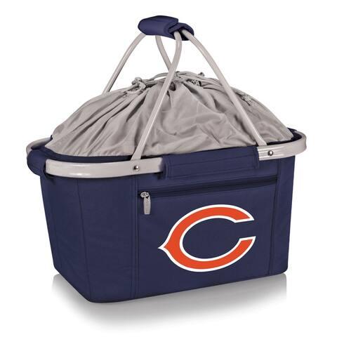 Picnic Time Chicago Bears Metro Basket - navy