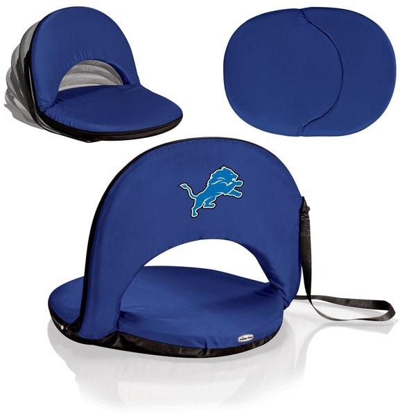 Oniva Detroit Lions Portable Seat - Blue