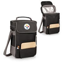 Picnic Time Pittsburgh Steelers Duet Tote - Black
