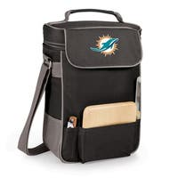 Picnic Time Miami Dolphins Duet Tote - Black