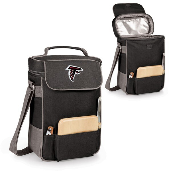 Picnic Time Atlanta Falcons Duet Tote - Black