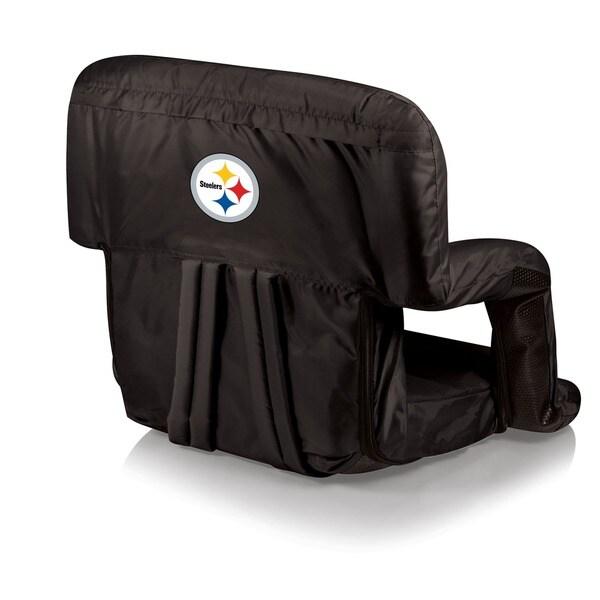 Black Pittsburgh Steelers Ventura Seat