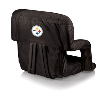 Black Pittsburgh Steelers Ventura Seat