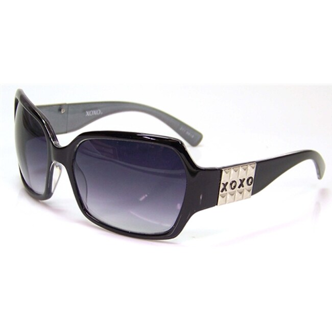 XOXO Women's Twilight Black Fashion Sunglasses