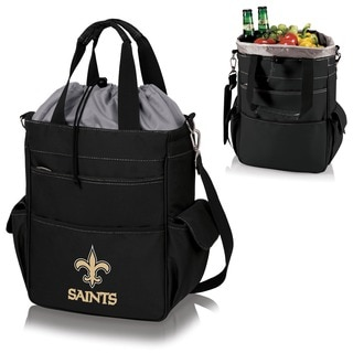 Picnic Time Activo-Tote Black (New Orleans Saints)