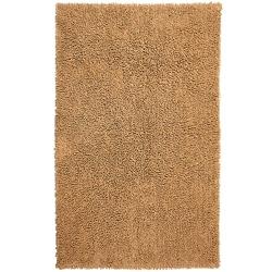 Hand-woven Shagadelic Tan Chenille Rug (4' x 6')