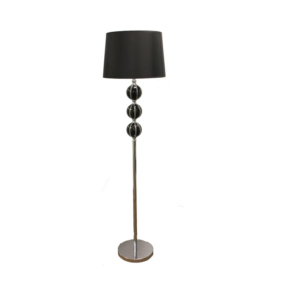 Shop 58 Inch Black Stack Ceramic Floor Lamp Free Shipping Today