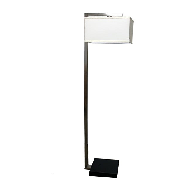 Floating Shade 62-inch High Modern Floor Lamp