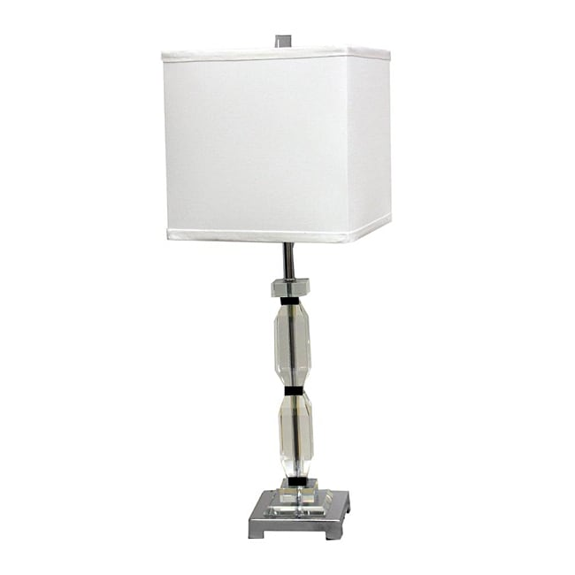 Vienna 26-inch High Crystal Table Lamp