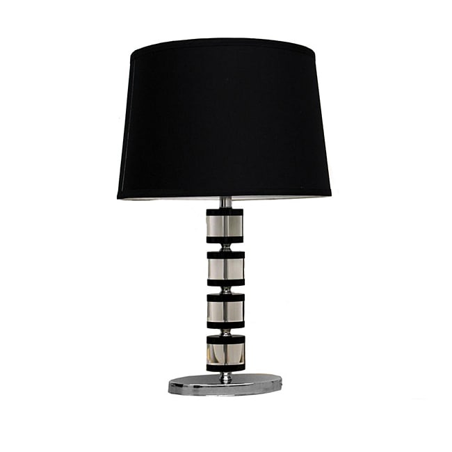 Oval 24-inch High Table Lamp