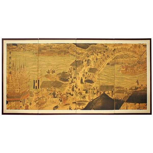 Ching Ming Festival Silkscreen (China)