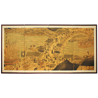 Handmade Ching Ming Festival Silkscreen