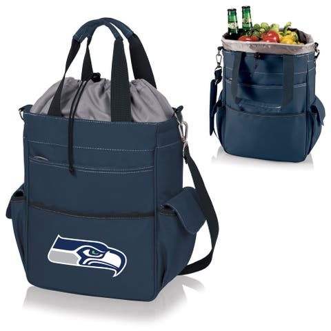 Picnic Time Activo-Navy Tote (Seattle Seahawks) - Seattle Seahawks