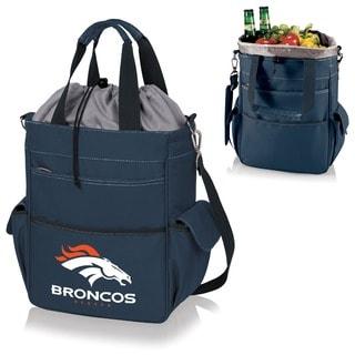 Picnic Time Activo-Navy Tote (Denver Broncos)