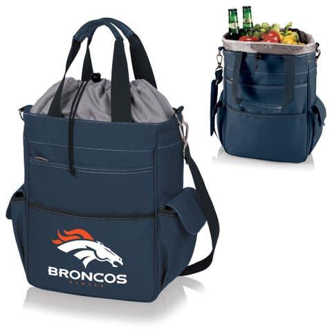 Picnic Time Activo-Navy Tote (Denver Broncos) - navy