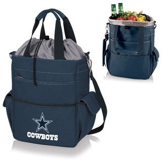Picnic Time Activo-Navy Tote (Dallas Cowboys)