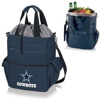 Picnic Time Activo-Navy Tote (Dallas Cowboys) - navy