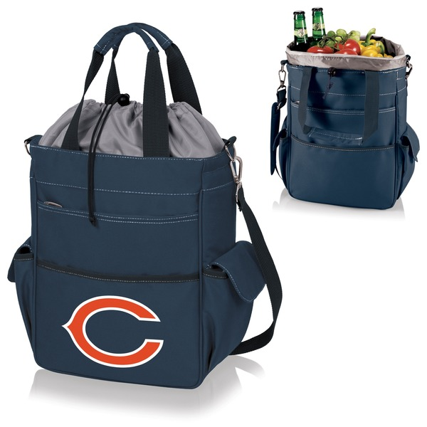 Picnic Time Activo-Navy Tote (Chicago Bears)