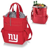 Picnic Time Activo-Red Tote (New York Giants) - Red
