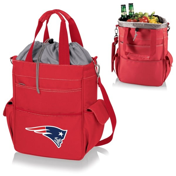 Picnic Time Activo-Red Tote (New England Patriots) - Red