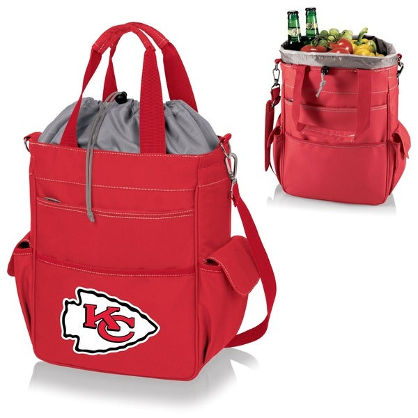 Picnic Time Activo-Red Tote (Kansas City Chiefs)