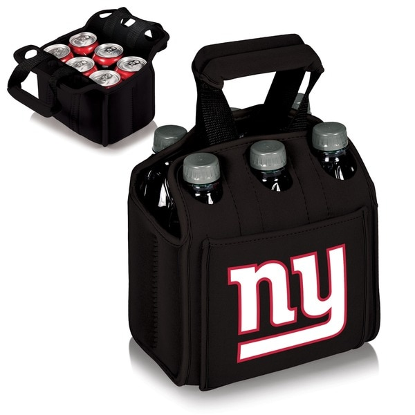 Picnic Time New York Giants Six-Pack Neoprene Carrier