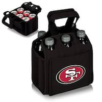 Picnic Time San Franciso 49ers Six Pack - Black