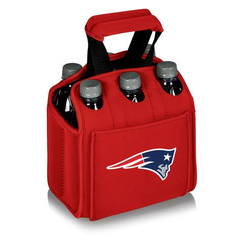 Picnic Time New England Patriots Six Pack - Red