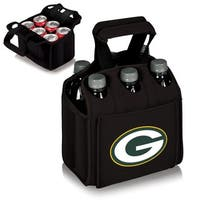 Picnic Time Green Bay Packers Six Pack - Black