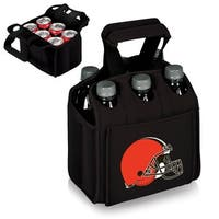 Picnic Time Cleveland Browns Six Pack - Black