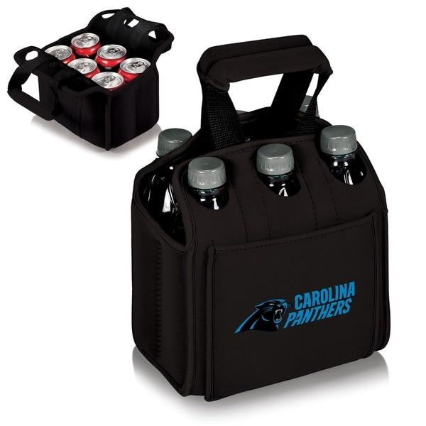Picnic Time Carolina Panthers Six Pack