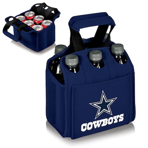 Picnic Time Dallas Cowboys Six Pack Holder - navy