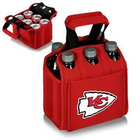Picnic Time Kansas City Chiefs Six Pack - Red