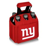 Picnic Time New York Giants Six Pack - Red