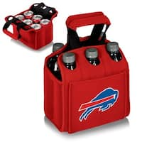 Picnic Time Buffalo Bills Six-Pack Neoprene Carrying Case - Red
