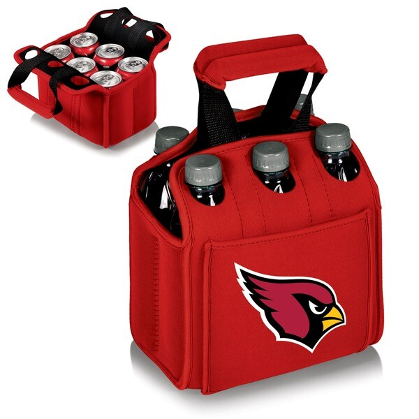 Picnic Time Arizona Cardinals Six Pack Bottle Carrier
