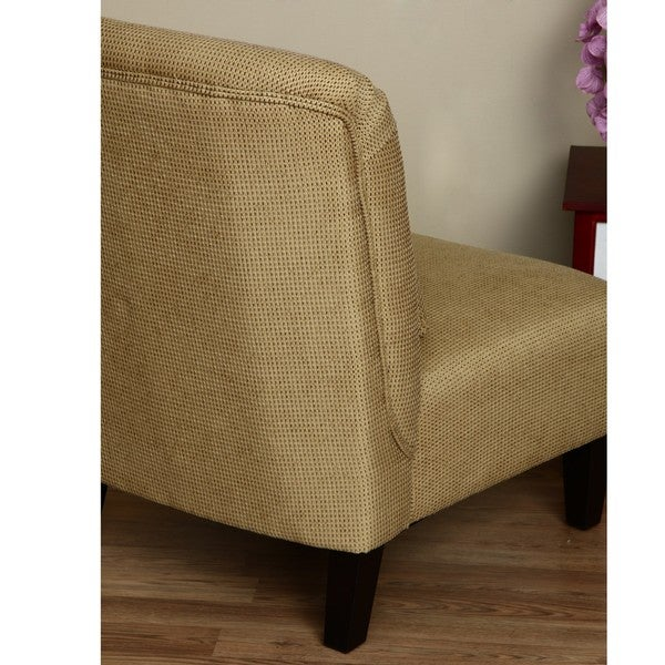 Anna Light Brown Accent Chair Free Shipping Today