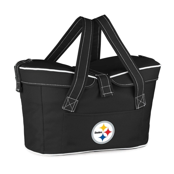 Picnic Time Pittsburgh Steelers Mercado Cooler Basket