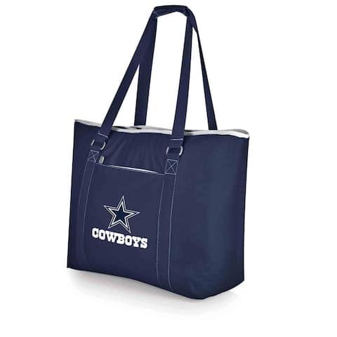 Picnic Time Dallas Cowboys Tahoe Shouler Tote - Brown/Grey