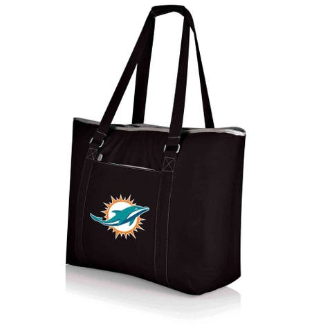 Picnic Time Miami Dolphins Tahoe Shoulder Tote - Black
