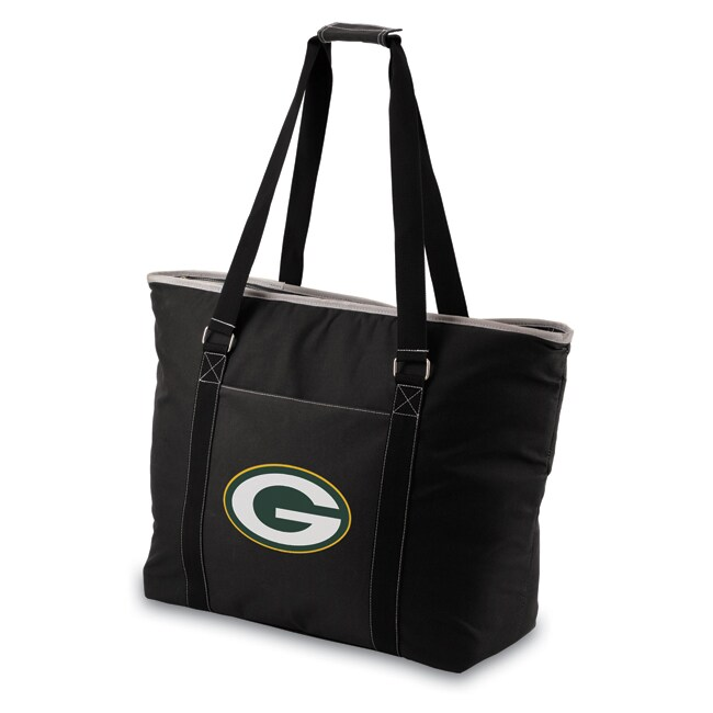 Picnic Time Green Bay Packers Tahoe Shoulder Tote - Black